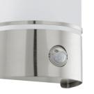 Moderní svítidlo venkovní s pohybovým čídlem CERNO