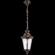 Venkovní závěsná lucerna na řetězu URBINO