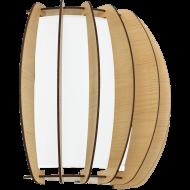 Nástěnné osvětlení dřevěná kostra STELLATO 1 95602