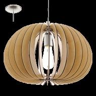 Závěsný lustr s dřevěnou konstrukcí COSSANO 94767