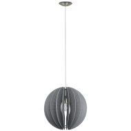 Závěsný lustr s dřevěným stínítkem FABESSA 32822