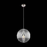 Závěsný lustr s dřevěným stínítkem OLMERO 96747