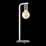 Stolní lampa, pastelově šedá ADRI-P 49116