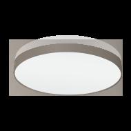 Stropní svítidlo PASTERI 97621 s průměrem 98 cm,  hnědošedá/bílá