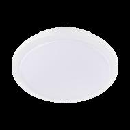 Bílé stropní LED svítidlo do koupelny s průměrem 40 cm COMPETA 1-ST 97752