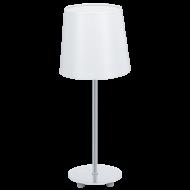 Lampička bílá látkové stínítko LAURITZ