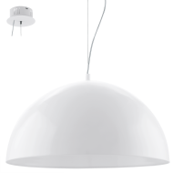 Závěsné svítidlo bílé GAETANO