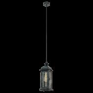 Závěsná lucerna na žárovku LISBURN 1 49215