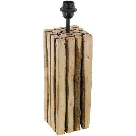 Stolní pokojová lampička ze dřeva RIBADEO 49831