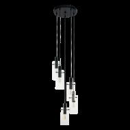 Kaskádovitě řešené závěsné svítidlo s pěti stínítky MONTEFINO 97368