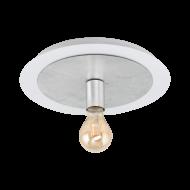 Stropní svítidlo, bílá/stříbrná PASSANO 97494