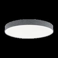 Stmívatelné stropní LED osvětlení s průměrem 98 cm, šedé ROMAO 97788