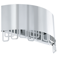 Nástěnná lampička z nerezové oceli FENELLA