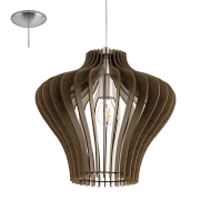 Závěsné stropní osvětlení dřevěná konstrukce COSSANO 2 95259