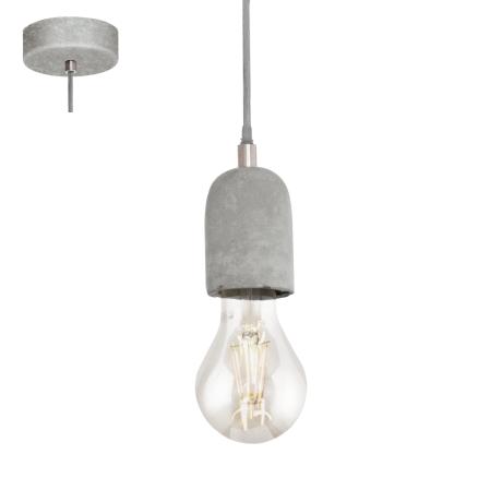 Závěsné osvětlení industriální SILVARES 95522
