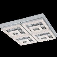 LED stropní osvětlení s křišťálem FRADELO 95661