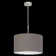 Závěsný lustr s textilním stínítkem PASTERI 96379