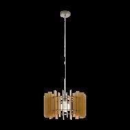 Lustr na lanku, dřevo v dekoru javoru TREGLIO 97518