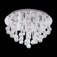 LED stropní osvětlení s křišťály ALMONTE 97699
