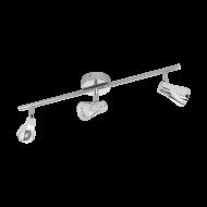Stropní LED bodové osvětlení, chromový odstín TIBERIO 97831