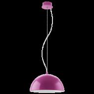Závěsné svítidlo fialové GAETANO