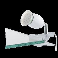 Lampička s klipem bílá BANNY 1