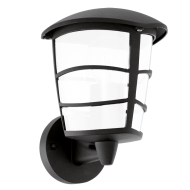 Venkovní lampa / lucerna černá ALORIA-LED