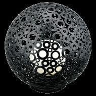 Venkovní lampa koule FERROTERRA