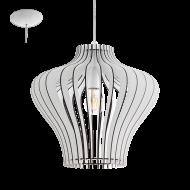 Závěsné stropní osvětlení dřevěná konstrukce COSSANO 2 95253