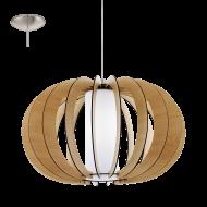 Závěsné osvětlení dřevěná kostra STELLATO 1 95599