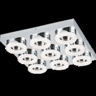 LED stropní osvětlení s křišťálem FRADELO 95665