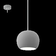 Závěsné osvětlení / lustr šedé PRATELLA LED 95837