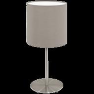 Stolní lampička s textilním stínítkem PASTERI 95726