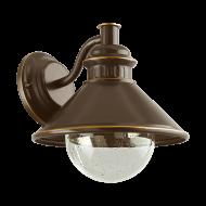 Nástěnná lampa pro venkovní využití, hnědá/měděná ALBACETE 96262