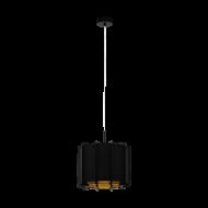 Závěsné osvětlení PINETA 98341, černo-zlaté