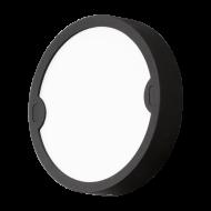 Kruhové venkovní osvětlení antracit ALFENA-R 95084