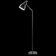 Pokojová lampa černá PRIDDY 49471