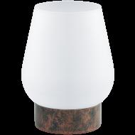 Pokojová lampička bílá DAMASCO 1 95762