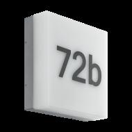 LED nástěnné venkovní svítidlo pro značení čísla popisného CORNALE 97289