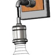 Industriální nástěnné světlo GOLDCLIFF 49101