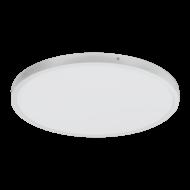 Stropní LED světlo, stříbrná/bílá, chromatičnost 4000K FUEVA 1 97267