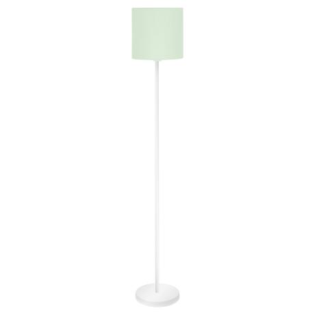 Pokojová lampa s textilním stínítkem, pastelově zelená PASTERI-P 97383