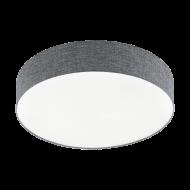 Stropní LED osvětlení s průměrem 57 cm, šedé ROMAO 97779