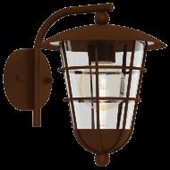 Venkovní lucerna hnědá nástěnná PULFERO 1 94855
