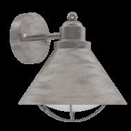 Venkovní lucerna nástěnná s patinou BARROSELA 94859
