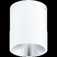 LED stropní osvětlení bílé a stříbrné POLASSO 94504