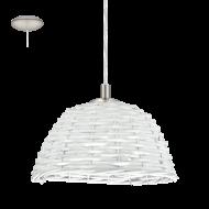 Stropní proutěná lampa vintage styl CAMPILO 2 94944