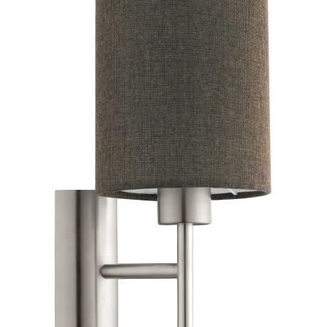 Nástěnné lampa s textilním stínítkem PASTERI 96385