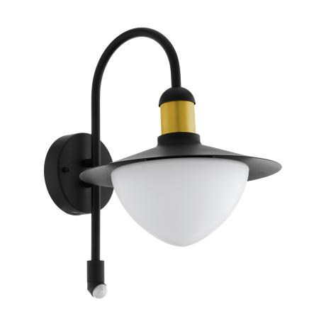 Venkovní nástěnná lampa s pohybovým čidlem SIRMIONE 97286