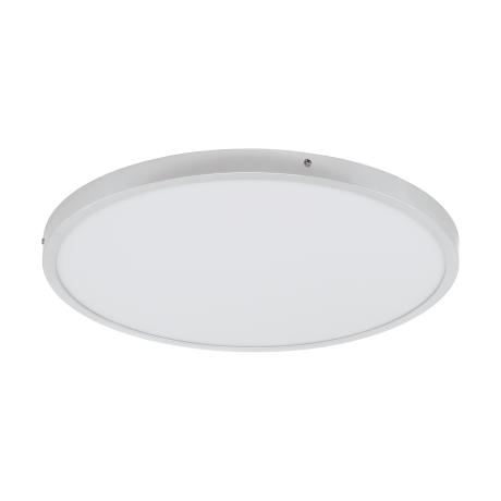 Kruhové stropní LED svítidlo, stříbrná/bílá FUEVA 1 97272
